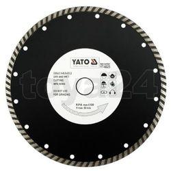 Tarcza diamentowa, segment turbo 230 mm / YT-6025 / YATO - ZYSKAJ RABAT 30 ZŁ, YT-6025 (2450874)