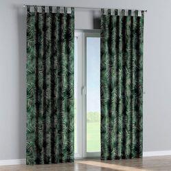 Dekoria Zasłona na szelkach 1 szt., zielony, 1szt 130 × 260 cm, Velvet