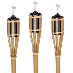Bambusowe pochodnie, 60 cm, 3 sztuky ,