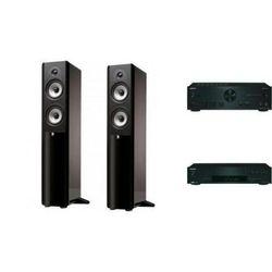 ONKYO A-9030 + T-4030 + BOSTON ACOUSTICS A250 - wieża, zestaw hif, towar z kategorii: Zestawy Hi-Fi