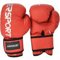 Rękawice bokserskie AXER SPORT A1334 Czerwony (10 oz)
