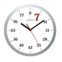 Zegar ścienny szczęśliwa siódemka marki Atrix