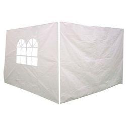 Ścianki do pawilonu 3 x 3 m białe 2 szt. (3663602419112)