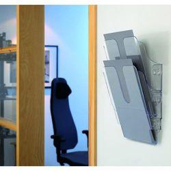 FLEXIPLUS A4 2 pionowe pojemniki na dokumenty, przezroczyste, Durable, 1709008400