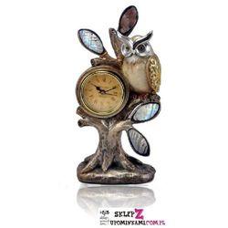 Zegar Zegarek stojący figurka Sowa ładny prezent