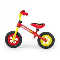 Milly-mally Rowerek biegowy dragon air yellow-red #b1