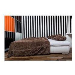 Narzuta koc włochacz futrzak 150x200 czekolada marki Świat sypialni