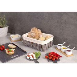Zeller Koszyk na chleb, pieczywo, owoce - 33x24x13cm,