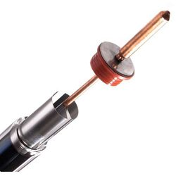 Pro eco solutions ltd. Rura próżniowa 58/1000 + heat pipe (aln/ain-ss/cu)