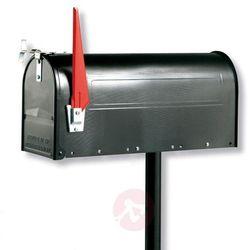 U.S. MAILBOX z wychylną chorągiewką czarna (4003482186107)