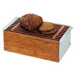 Pojemnik na pieczywo Gourmet z deską prostokątny, towar z kategorii: Chlebaki