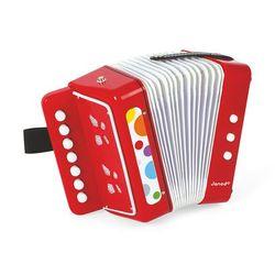 - akordeon confetti wyprodukowany przez Janod