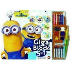 Giga Block - Zestaw dla artysty 5w1 - Minionki - produkt z kategorii- maskotki interaktywne