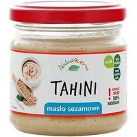 NATURAVENA 160g Tahini Masło sezamowe   DARMOWA DOSTAWA OD 150 ZŁ! - produkt z kategorii- Masła orzechowe,