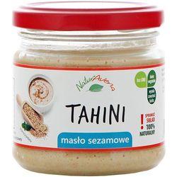 NATURAVENA 160g Tahini Masło sezamowe - produkt z kategorii- Masła orzechowe, kakaowe i inne