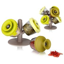 Pojemniki na przyprawy PopSome Herbs & Spices, 3 sztuki. - 3 sztuki