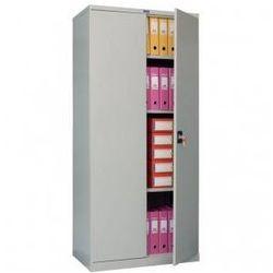 Szafa metalowa 199,6x91,5x46 na akta dokumenty biuro warsztat am-2091 marki Valberg