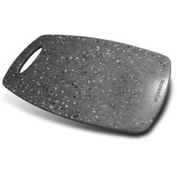 Ergonomic solid surface deska do krojenia lava grey