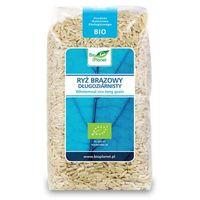 Bio planet : ryż brązowy długoziarnisty bio - 500 g (5907814662002)