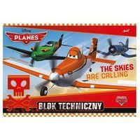 Disney Blok techniczny a4 10 k. planes st (p. 10) majewski (5903235161483)