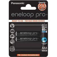 2 x akumulatorki Panasonic Eneloop PRO R03 AAA 950mAh BK-4HCDE/4BE (blister) (5410853057185)