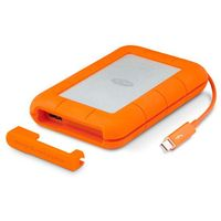 LACIE Rugged Thunderbolt & USB3.0 2TB 2.5inch with integrated Thunderbolt cable