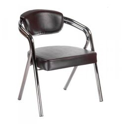 Krzesło do poczekalni br-4511 brązowe od producenta Vanity_b