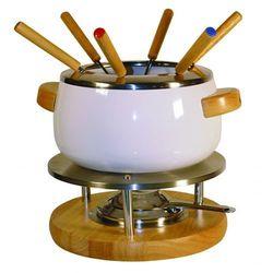 Zestaw do fondue 707100  stal nierdzewna, drewno marki Ibili