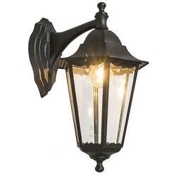 Zewnętrzna lampa ścienna New Orleans dolna czarna, produkt marki Ranex