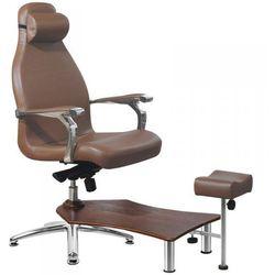 Fotel Spa Do Pedicure Azzurro 230 Brązowy z kategorii Pozostałe fryzjerstwo i kosmetyka