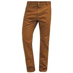 Carhartt WIP RUCK PATTERSON Spodnie materiałowe hamilton brown
