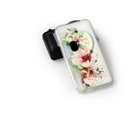Fantastic Case - Asus Zenfone Zoom - etui na telefon Fantastic Case - róże herbaciane (Futerał telefoniczny