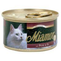 MIAMOR Fleischpastete pasztet mięsny dla kota 85g puszka 7 smaków