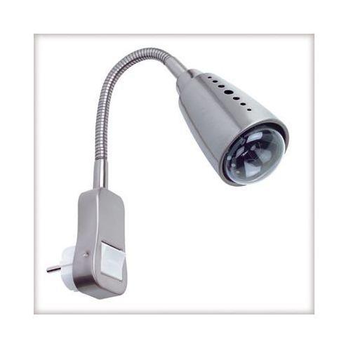Flexus I lampka z wtyczką max.1x40W E14 chrom-mat z kategorii oświetlenie
