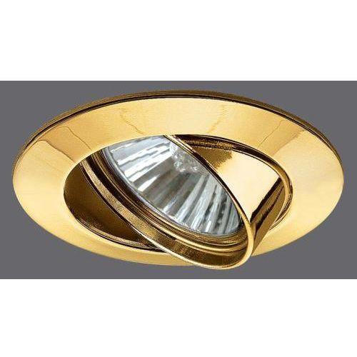 Zink-ALU-Oprawy wbudowywane, wychylne, złoty 50 - z kategorii- pozostałe oświetlenie