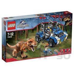 jurrasic world 75918 tropiciel tyranozaura, marki Lego