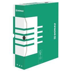 Pudło archiwizacyjne DONAU, karton, A4/80mm, zielone (5901498109426)