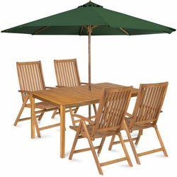 calypso 4 z parasolem, zielony marki Fieldmann