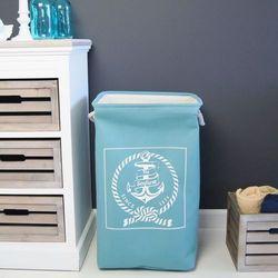 Design by impresje24 Kosz na pranie, turkusowy.