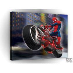 Obraz Spider Man na motorze PPD526