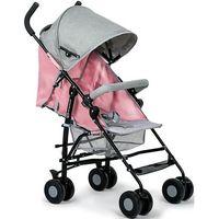 Kinderkraft Wózek spacerowy  rest z pozycją leżącą różowy + darmowy transport!