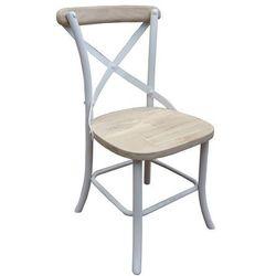:: paris krzesło ogrodowe - naturalny, biały ||miloo :: paris krzesło ogrodowe wyprodukowany przez Miloo