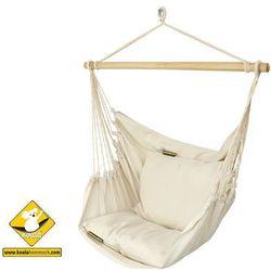 Fotel hamakowy szeroki, ecru HC10