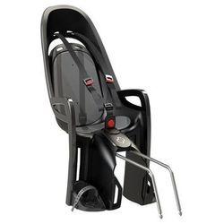 Hamax Fotelik rowerowy zenith szary, szara wyściółka (7029775530362)