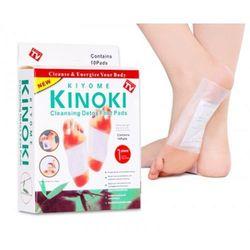Plastry oczyszczające toksyny Kinoki Detox 10 szt. (plaster odchudzający)