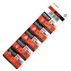 10 x bateria alkaliczna mini Maxell G3 / AG3 / L736 / 192 / LR41 - produkt z kategorii- Baterie