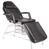 Fotel kosmetyczny z kuwetami MK262 czarny - sprawdź w wybranym sklepie