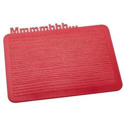Deska śniadaniowa happy boards mmmmhhh... malinowa marki Koziol