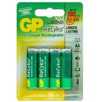 4 x akumulatorki R6/AA GP ReCyko+ 2000mAh z kategorii Akumulatorki
