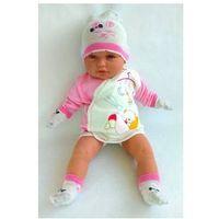 Wyprawka noworodek czapeczka skarpety niedrapki 0+ marki Bonne baby